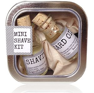 Shave Kit And Face Rag By Botanist - skincare