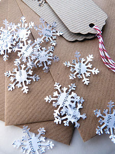 Snowflake Confetti - shop by category