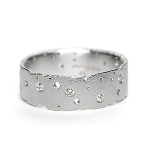 Diamond And Silver Ring - rings