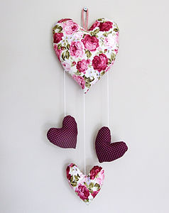 Heart Mobile - valentines gifts for children