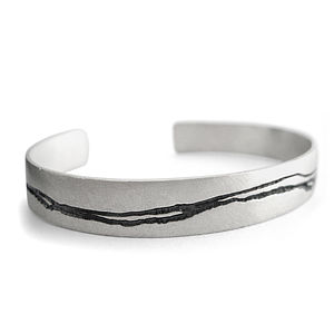 Silver Cuff - winter sale
