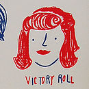 Retro Hairstyles Victory Roll