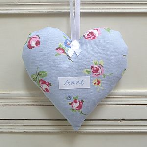 Personalised Lavender Scented Heart - valentine's gifts for her