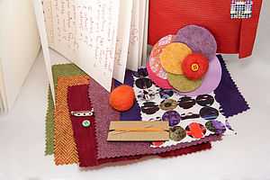 Craft Your Own Stylish Brooch Kit - model & craft kits