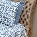 Safari Blue Single And Cot Duvet Cover Set