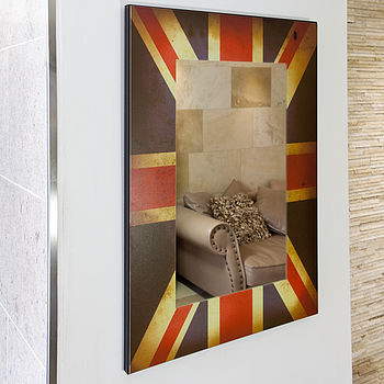 Vintage Design Union Jack Mirror