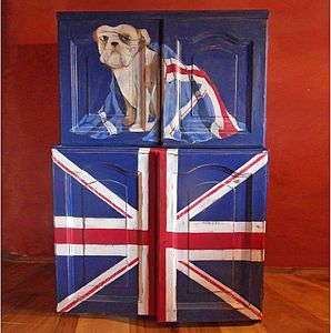 Bulldog Double Cupboard - furniture