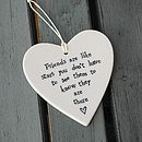 Friends are like starts...hanging heart