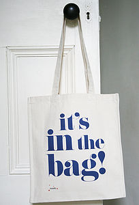 'It's In The Bag' Shopper Bag