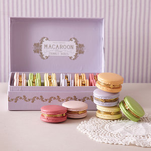 Macaroon Trinket Boxes - jewellery storage & trinket boxes