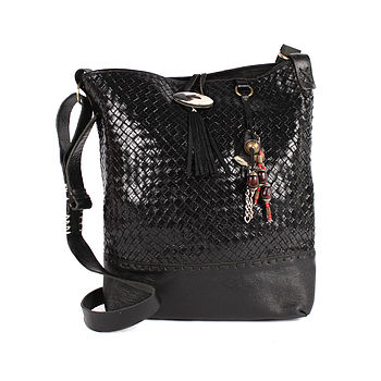 Sahara Cross Body Bag, Black