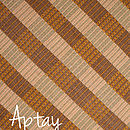 Aptay Table Runner - Brown / Gold / Beige