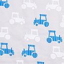 Printed Tractor Baby Sleepbag