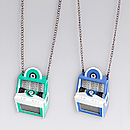 Jukebox Necklace Different Colours