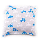 Child's Printed Tractor Cushion Cover