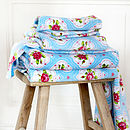 Flower Medallion Bath Towel By PiP Studio