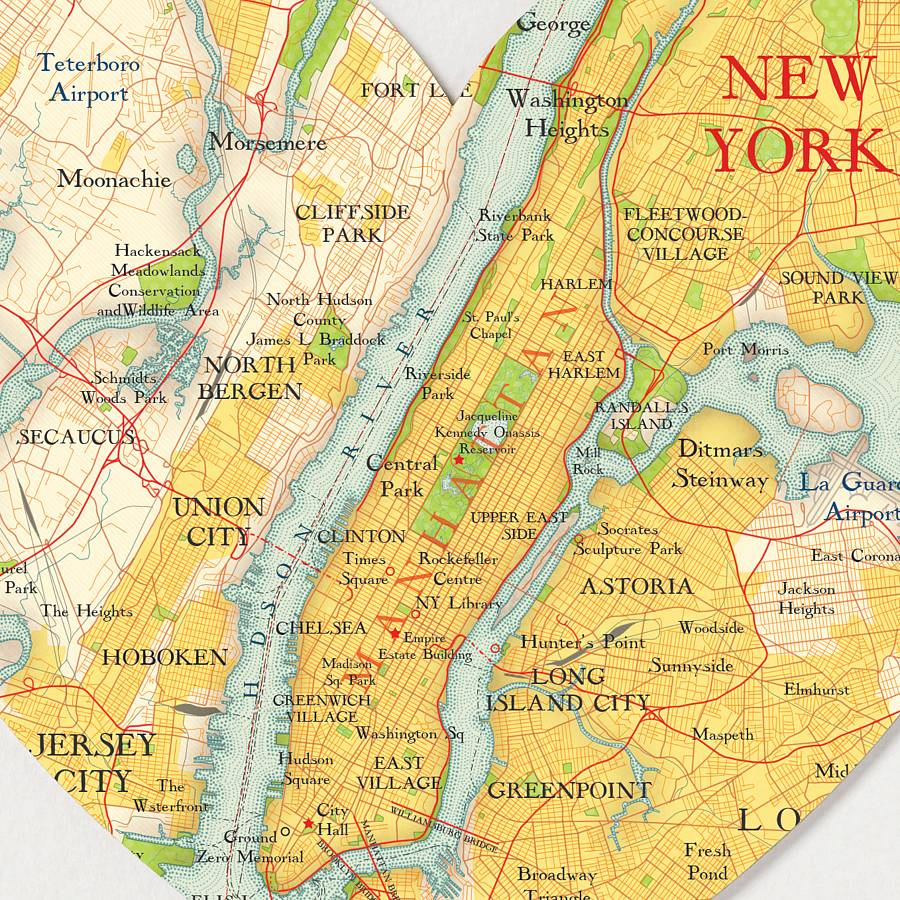 This is a graphic of Rare New York Map Printable