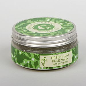 Green Clay Face Mask - bathroom