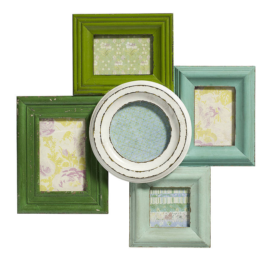 Vibrant Multi Picture Frame By Bell Amp Blue