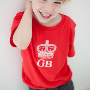 Child's Great Britain T Shirt