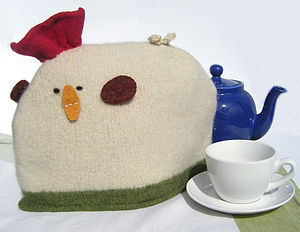 Handmade Chicken Tea Or Coffee Cosy - tea & coffee cosies