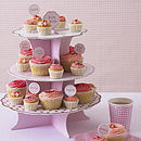 Polka Dot Party Cake Stand