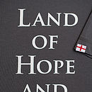 England Land Of Hope… T Shirt