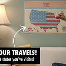 Scratch Map USA Edition