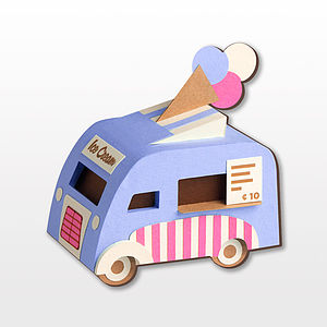 Ice Cream Van Brooch - pins & brooches