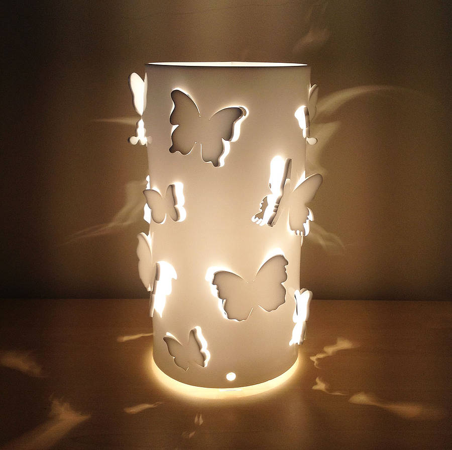 Butterfly Table Lamp By Kirsty Shaw