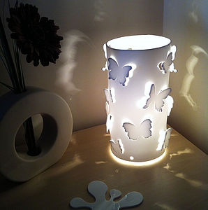 Butterfly Table Lamp - bedroom