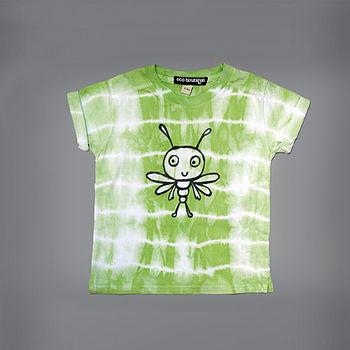 Bugly Glow In The Dark Tie Die T Shirt