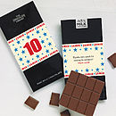 12 Personalised Birthday Chocolate Bars