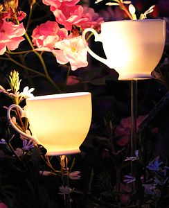 Teacup Tea Light Burner - lights & lanterns