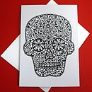 Sugar Skull Greetings Card