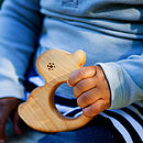 Organic Wooden Duck Teether