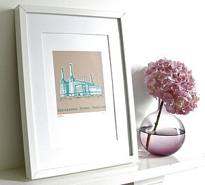 Battersea Power Station Silk Screen Print