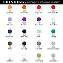 Shindigg Colour Chart
