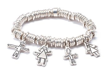 Personalised Sweetie Bracelet - Drawn By Your Child!
