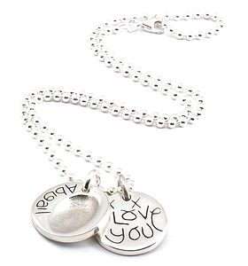 Fingerprint Charm On A Chain - view all mother's day gifts