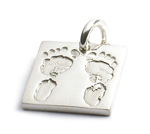 Personalised Hand/Footprints Charm
