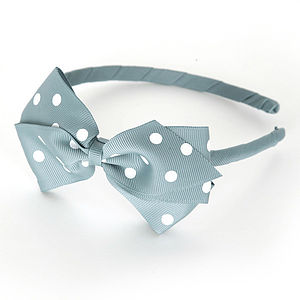 Polka Dot Alice Hair Band