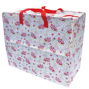 Paisley Rose Shopper Or Storage Bag - storage & organisers
