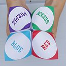 Personalised Paper Fortune Teller
