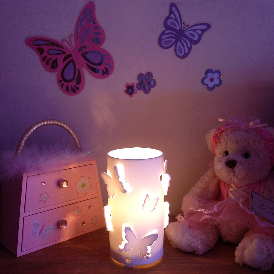 Butterfly Night Light By Kirsty Shaw