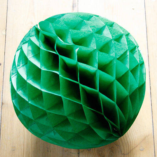 how to make paper luxe honeycomb tissue ball