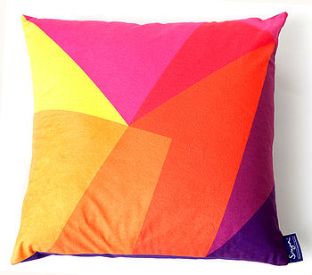 After Matisse Cushion Sunset
