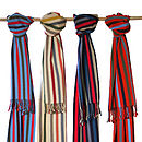 Handwoven Cotton Striped Chamelal Scarf