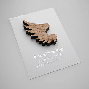 Oak Wing Magnetic Decoration - magnets