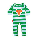 Baby 'Winky Fox' Playsuit